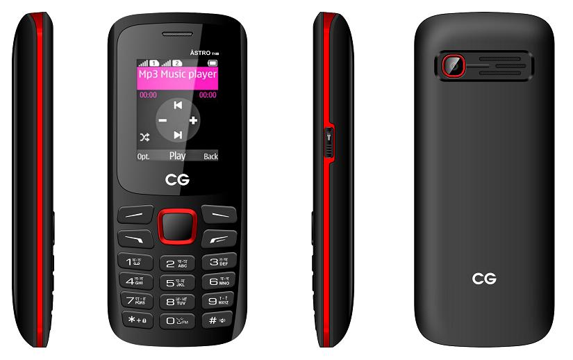 सिजीको 'एस्ट्रो टी १८' फोन बजारमा
