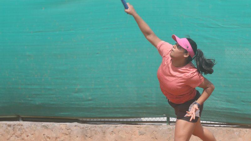 निमिशा र शुभाङ्गी जेटीआई जुनियर ओपन टेनिस प्रतियोगिताको क्वाटरफाइनलमा