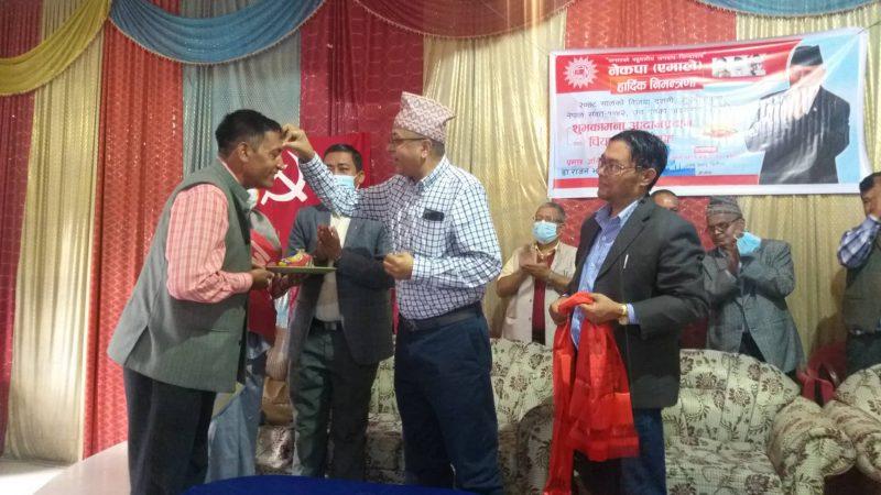 नेपाली कांग्रेस बुढानिलकण्ठ-१० का इकाई समिति सदस्य सुदर्शन पौडेल नेकपा एमालेमा प्रवेस