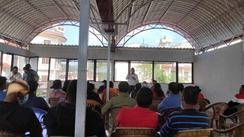 नेपाली कांग्रेस बुढानिलकण्ठको पहिलो बैठक सम्पन्न ,सभापतिका दुई प्रत्यासी नगर सदस्यमा मनोनित