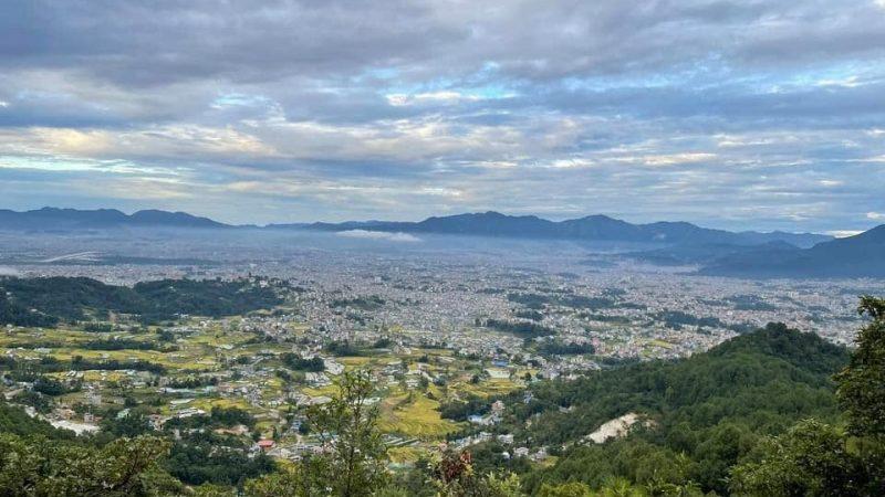 तारेभिरबाट देखिएको काठमाण्डौको सुन्दर दृश्य !